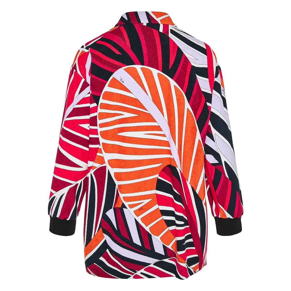 Sal print oversized jacket