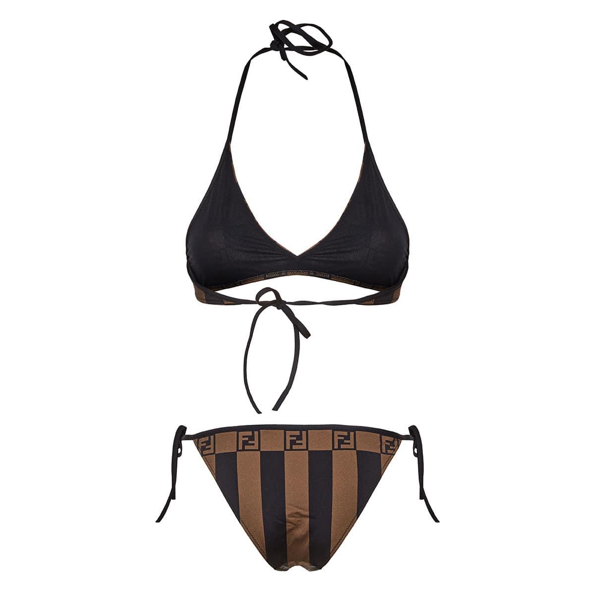 FF printed triangle bikini