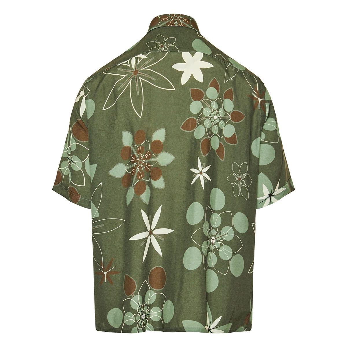 Kaleido print short-sleeved shirt