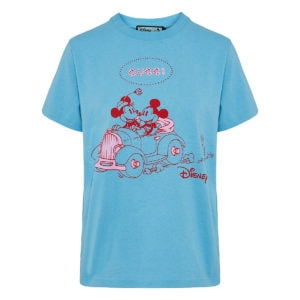 Disney X Gucci oversized printed t-shirt