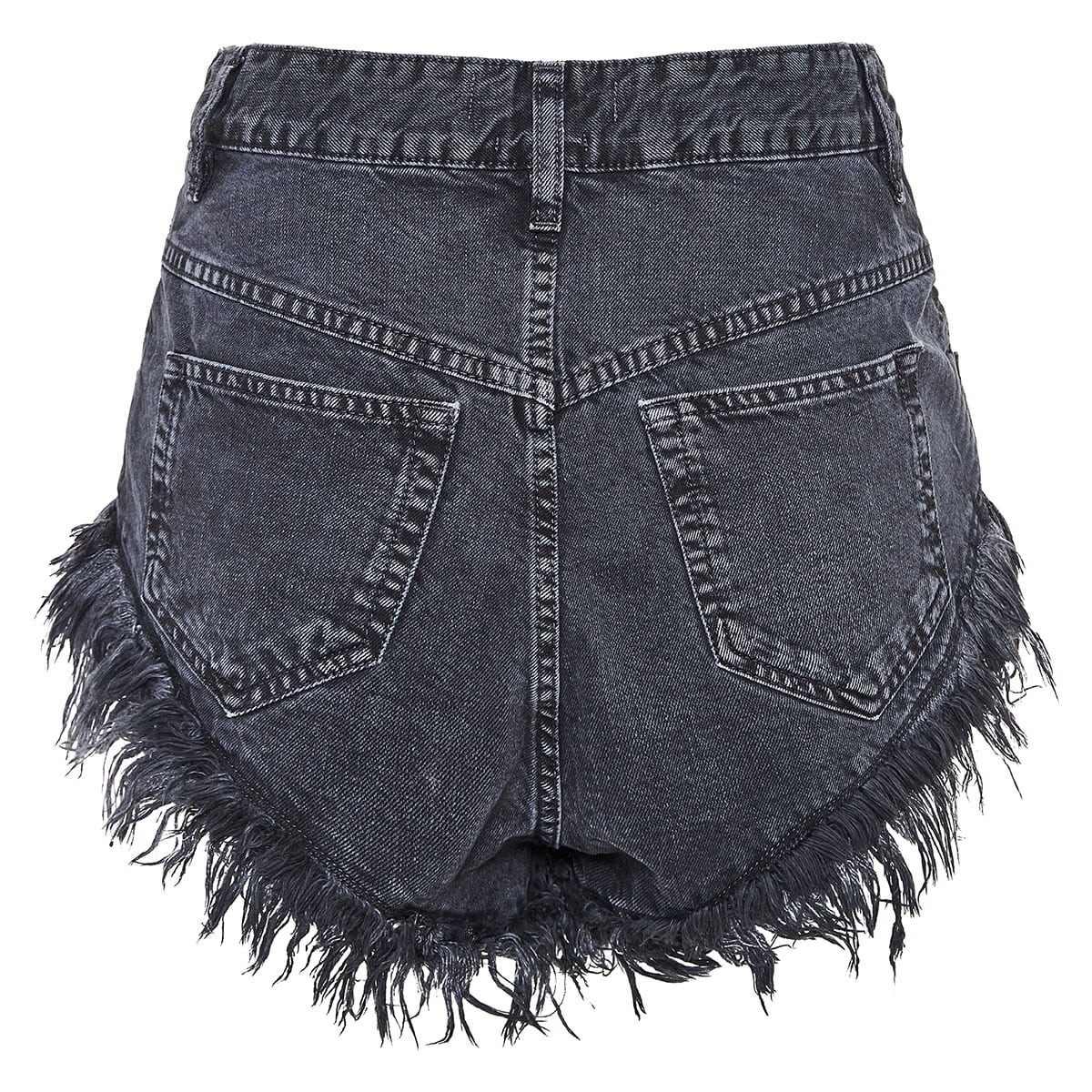 Eneida denim mini shorts