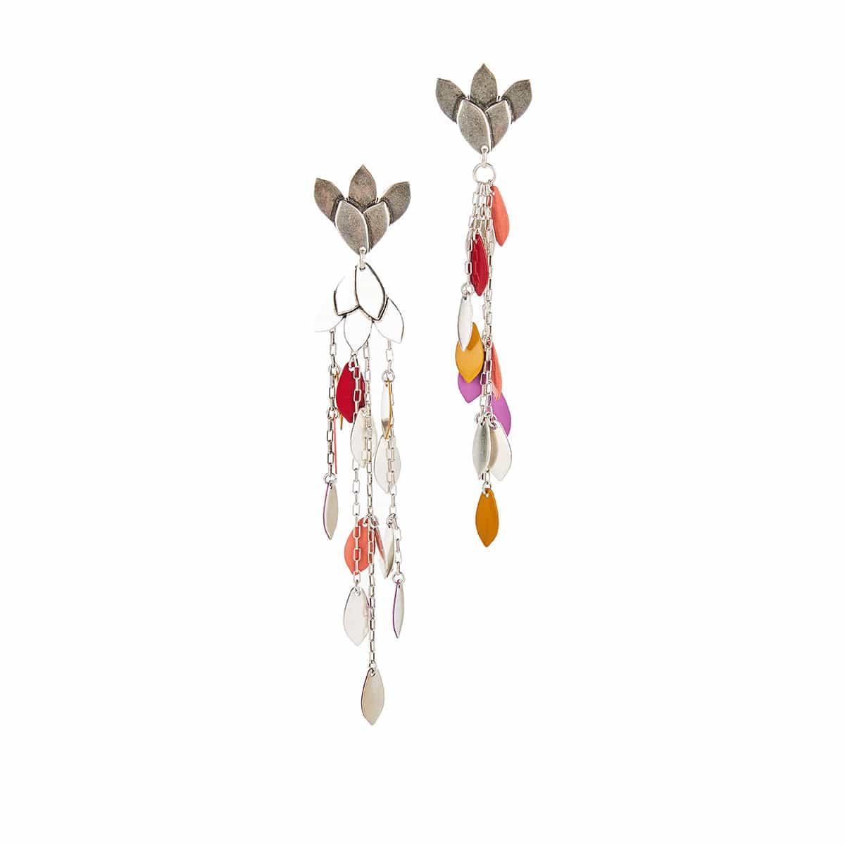 Marisa long drop earrings