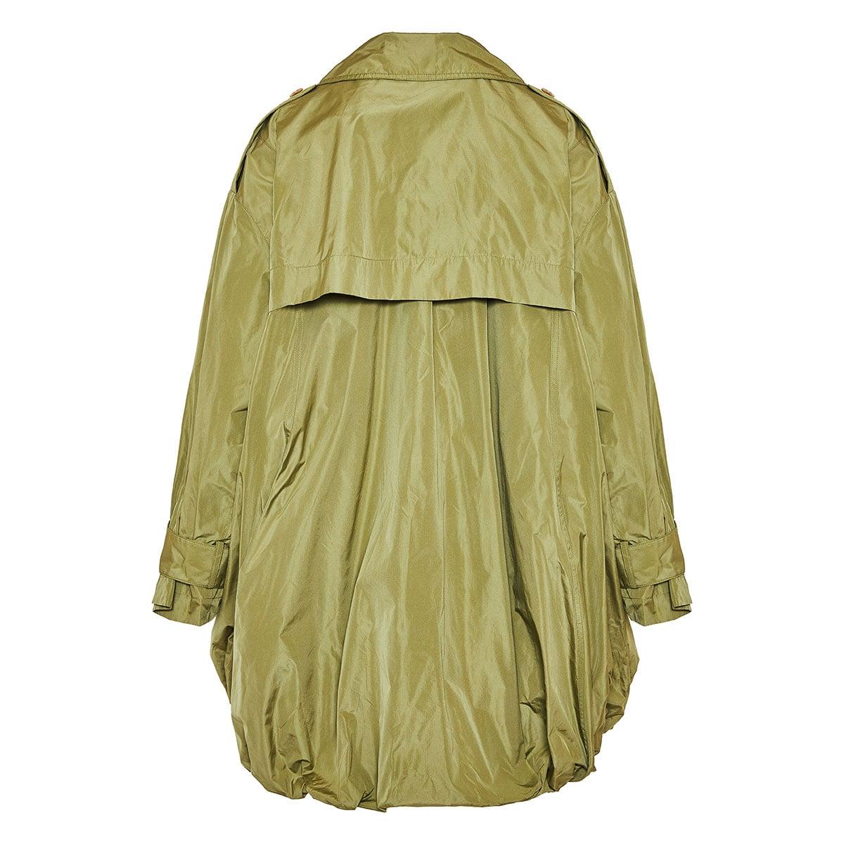Ouro balloon taffeta parka jacket