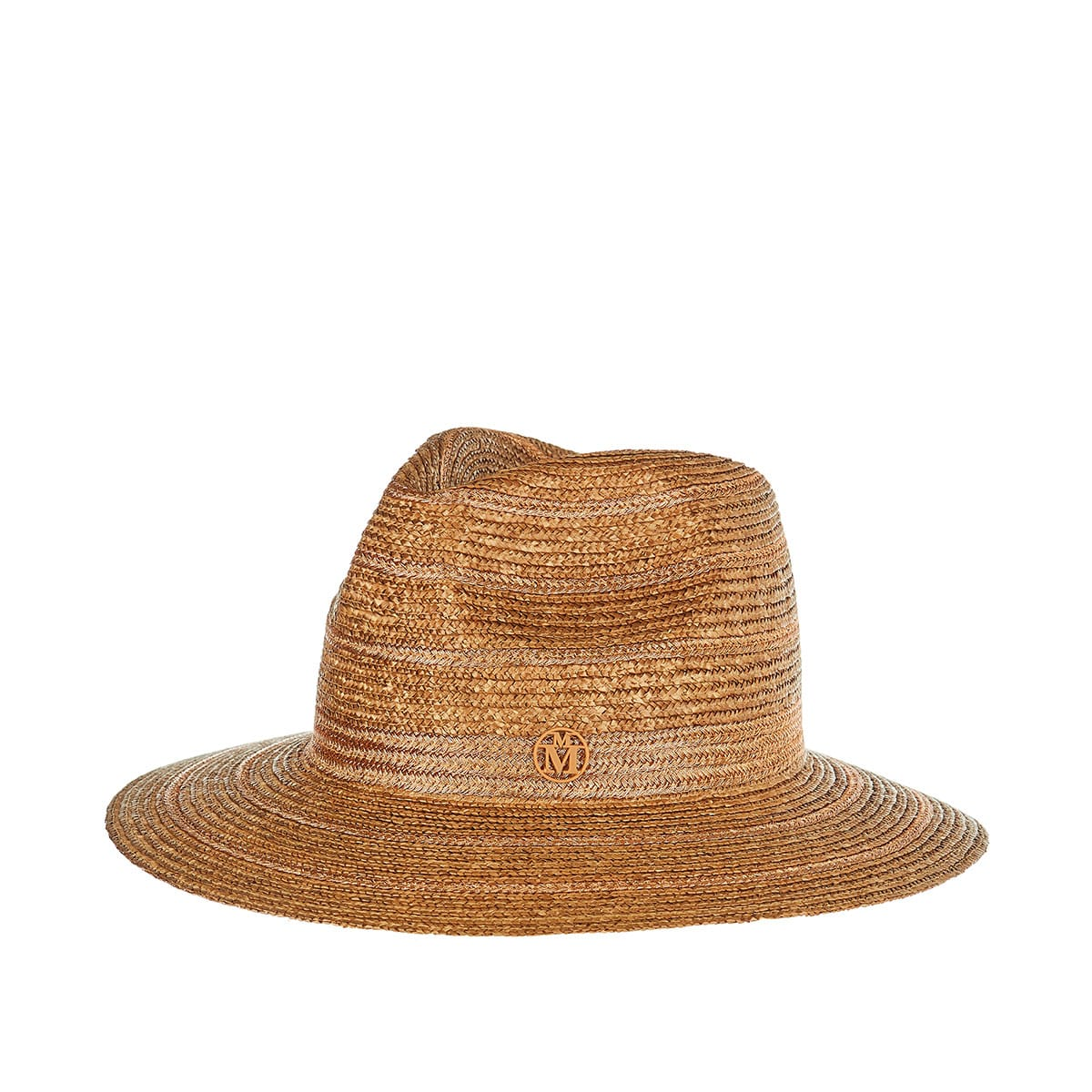Rico lurex-detailed straw hat