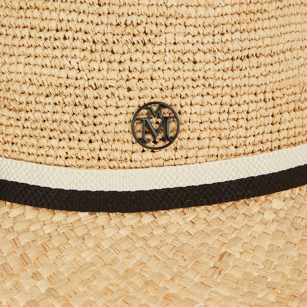 Big Kate frayed raffia hat