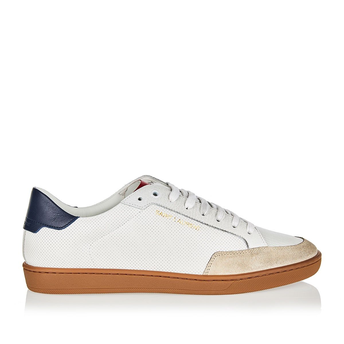 Court Classic SL/10 perforated leather sneakers