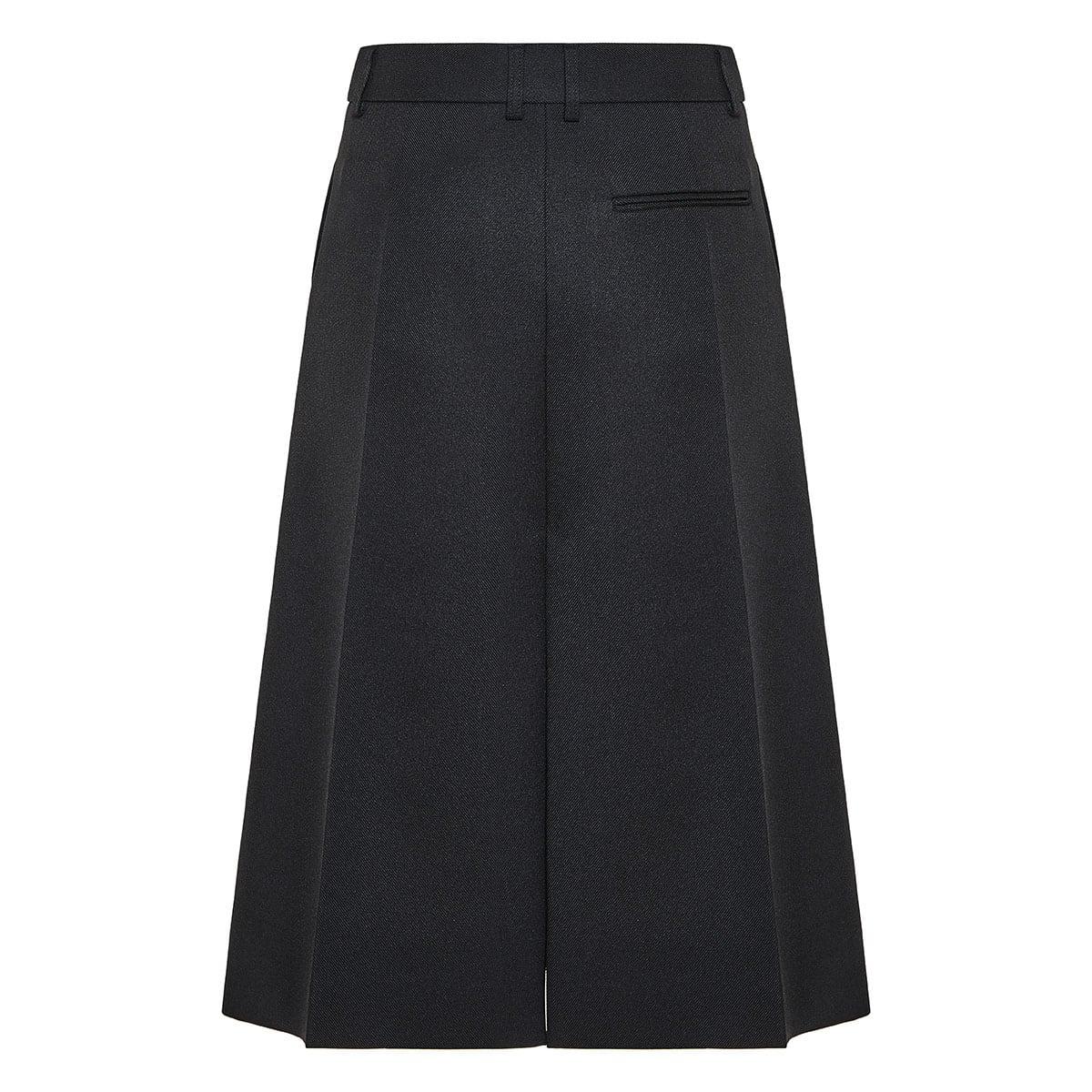 Alisha tailored midi skirt