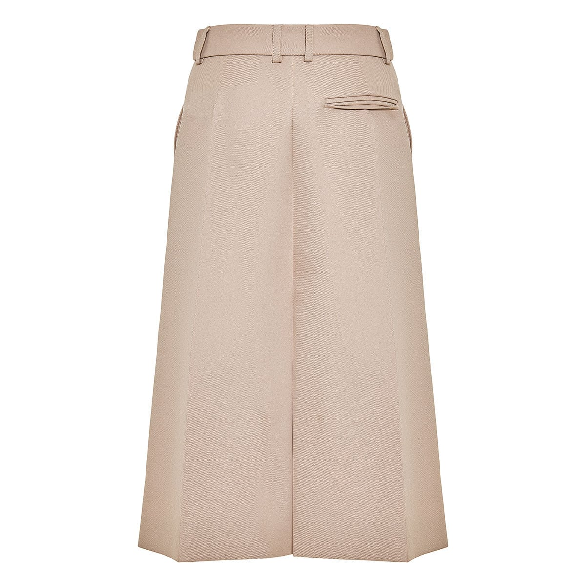 Alisha tailored midi skirt