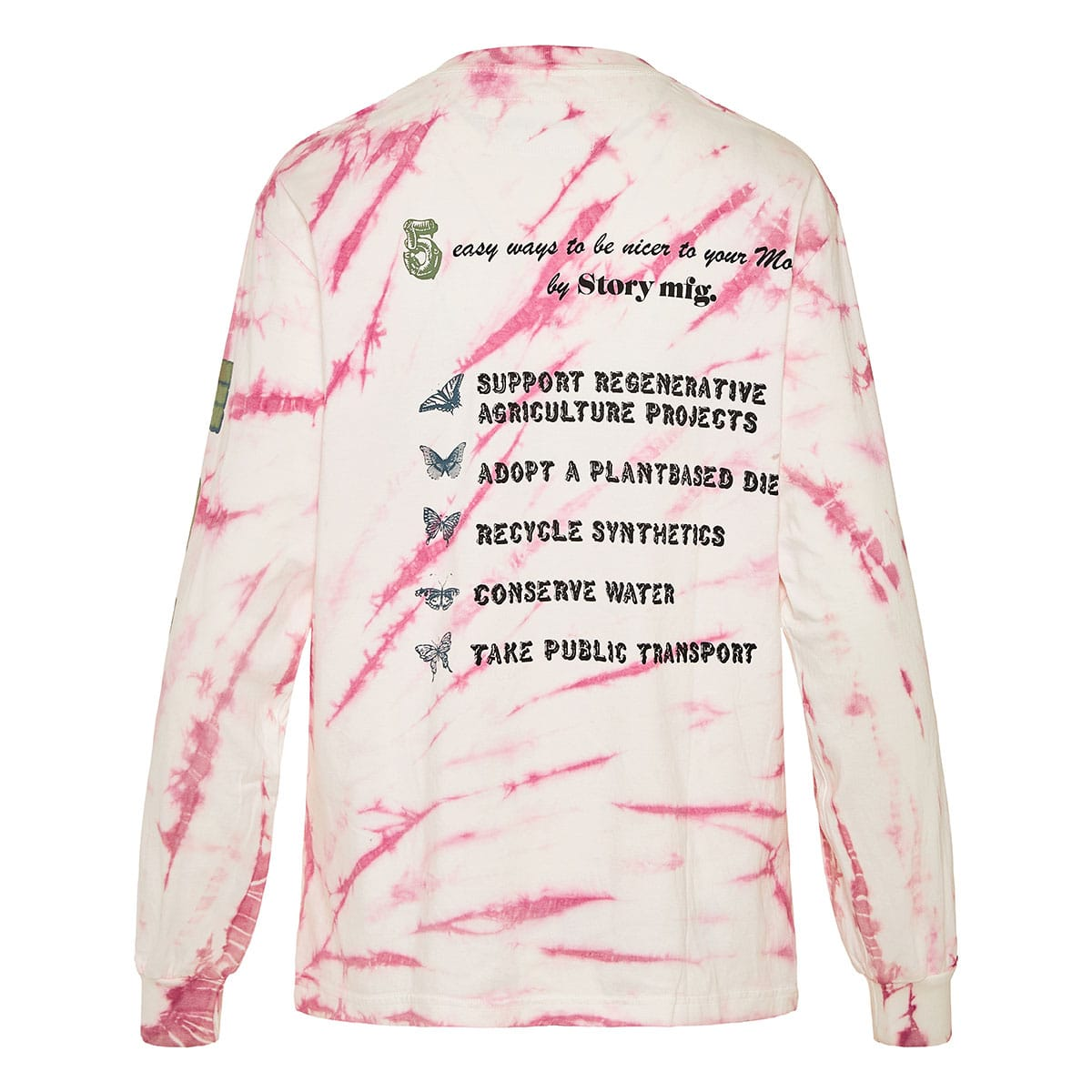 Grateful tie-dye printed sweatshirt