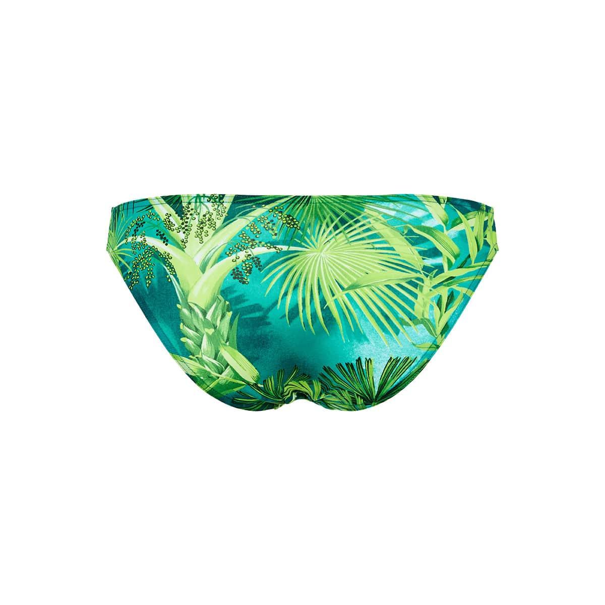 Jungle print bikini bottoms