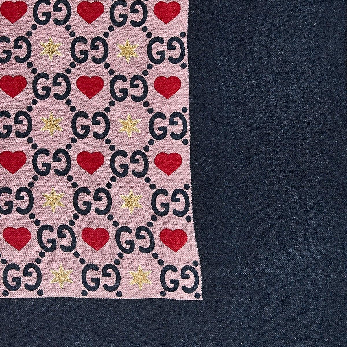 GG printed scarf