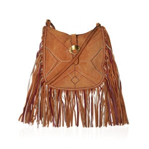 Usko fringed suede bag