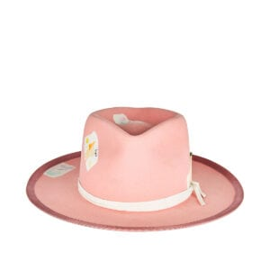 Babe painted felt hat