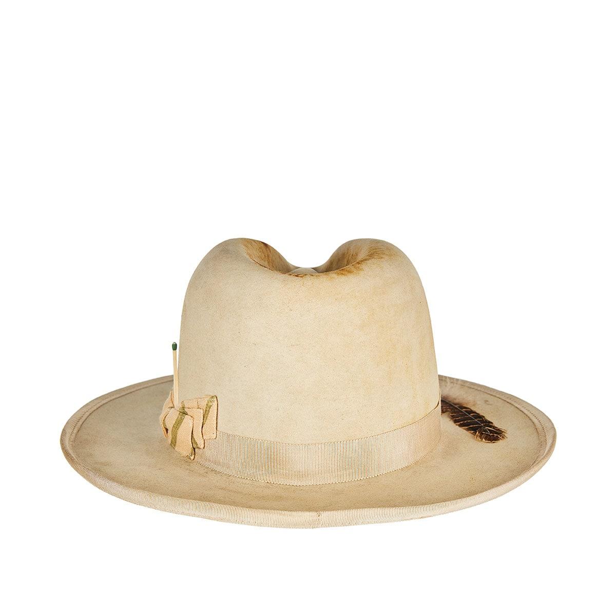 San Miguel distressed felt hat
