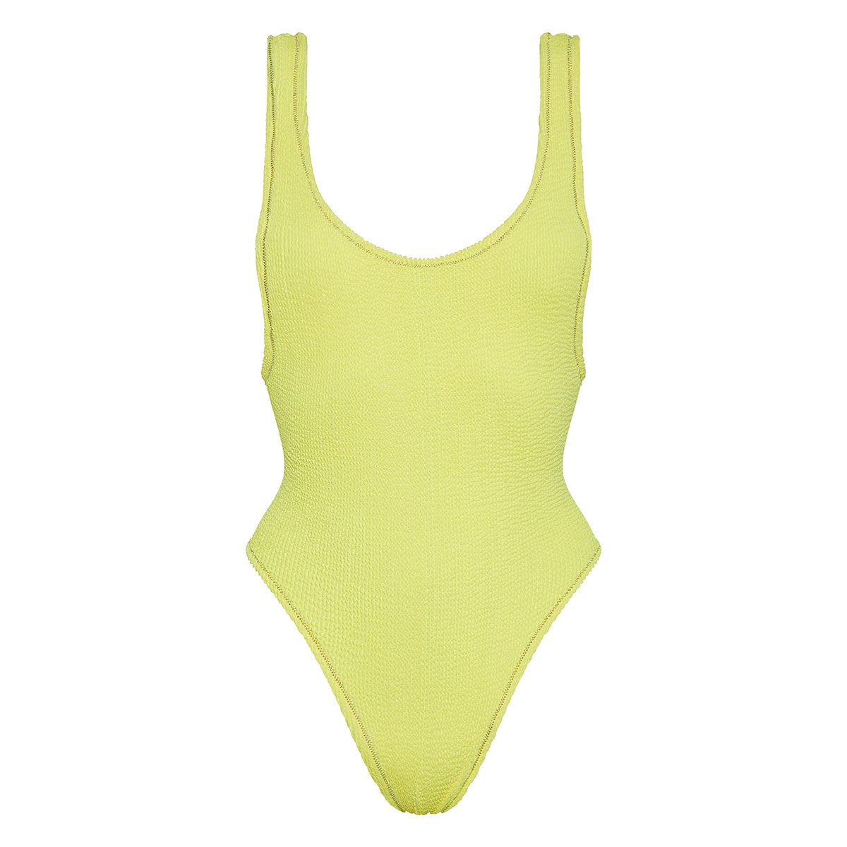 Ruby Scrunch textured swimsuit