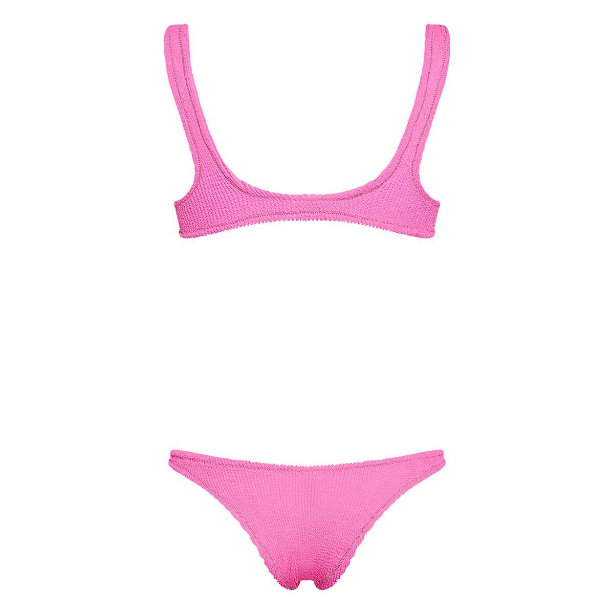 Ginny Scrunch textured bikini