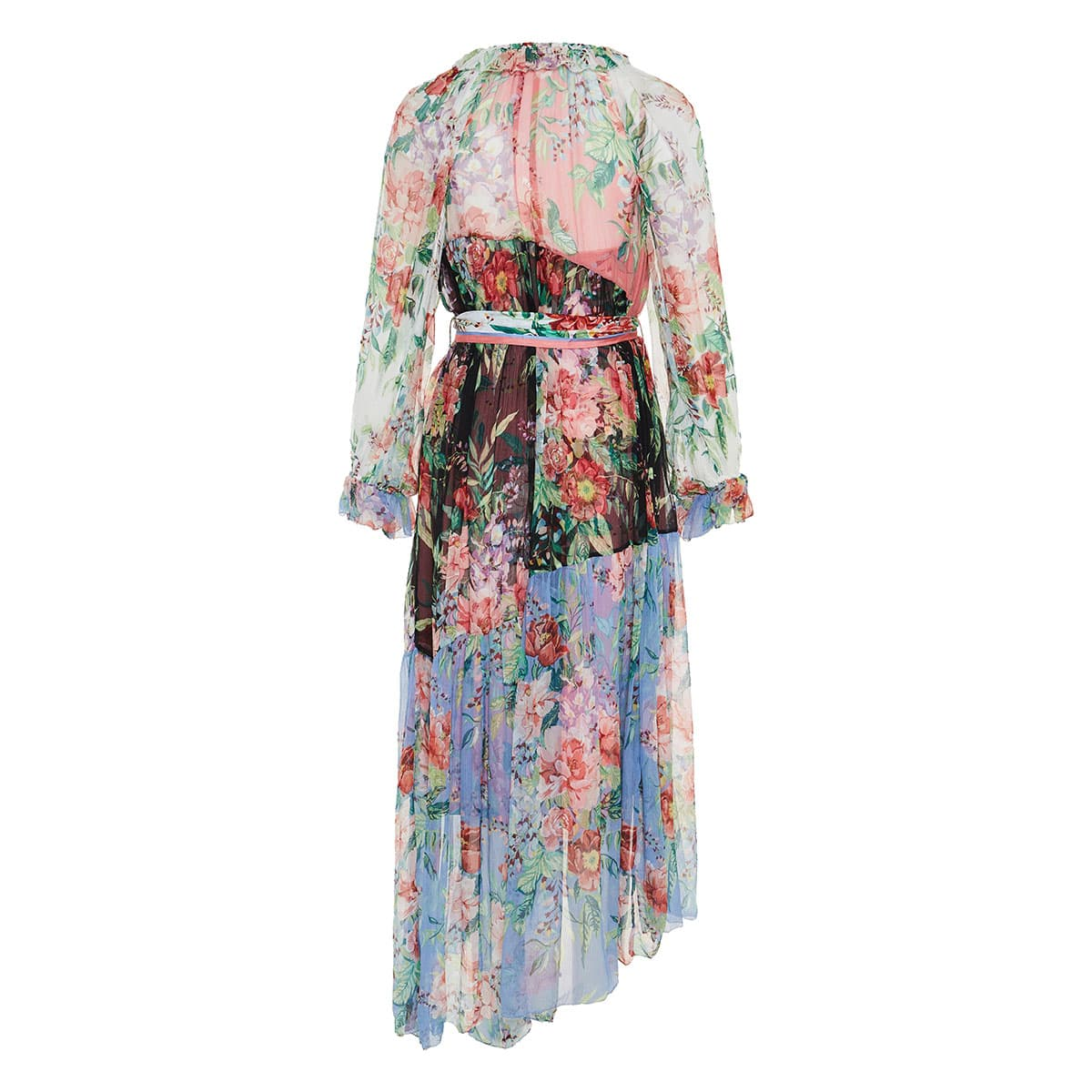 Bellitude asymmetric floral dress