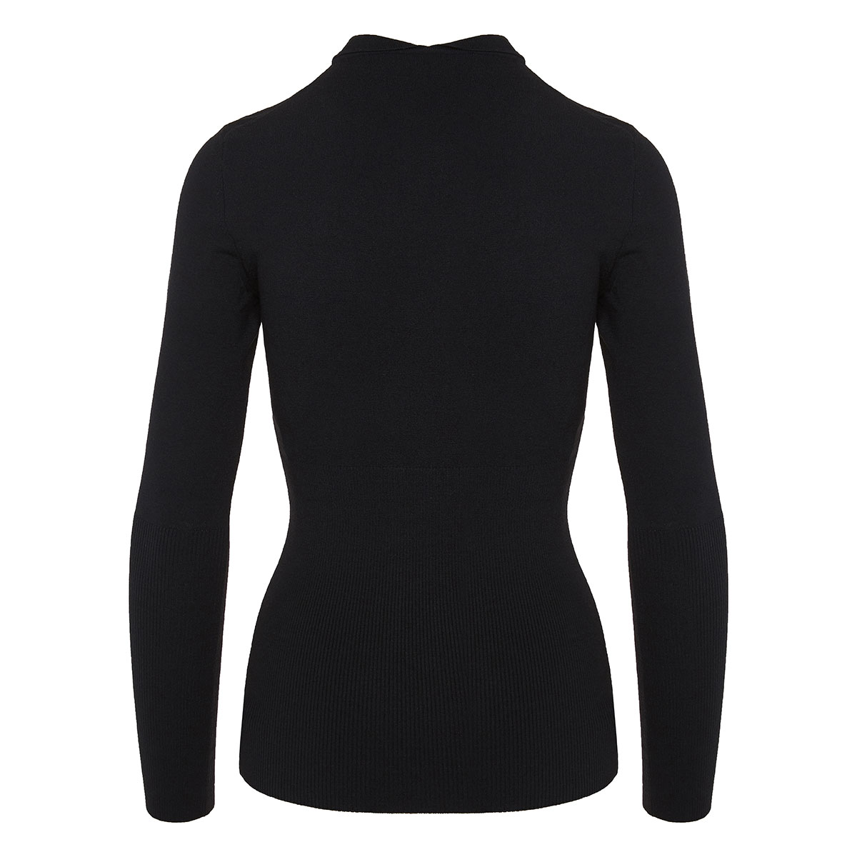 Wool blouse with collar