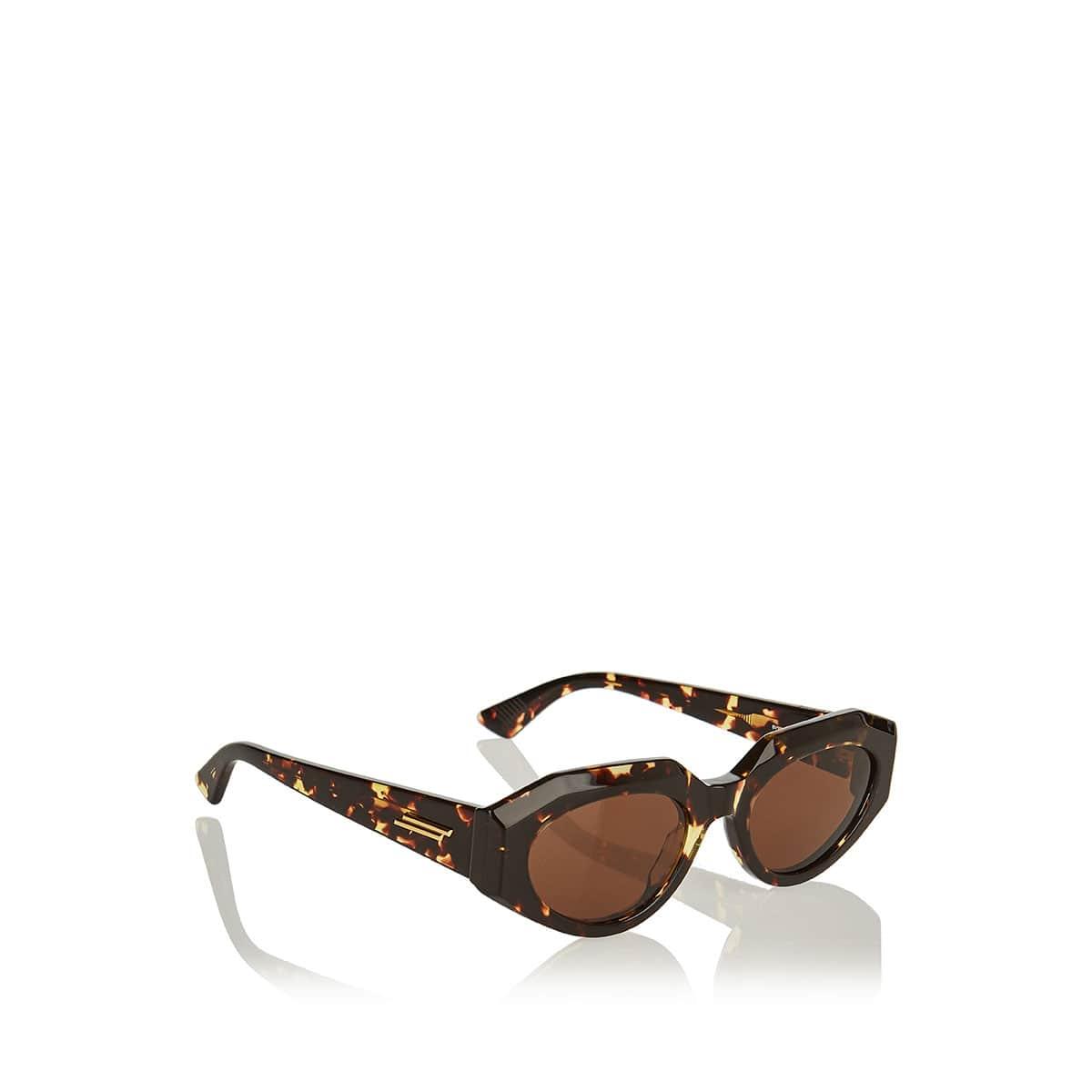 Oversized acetate sunglasses