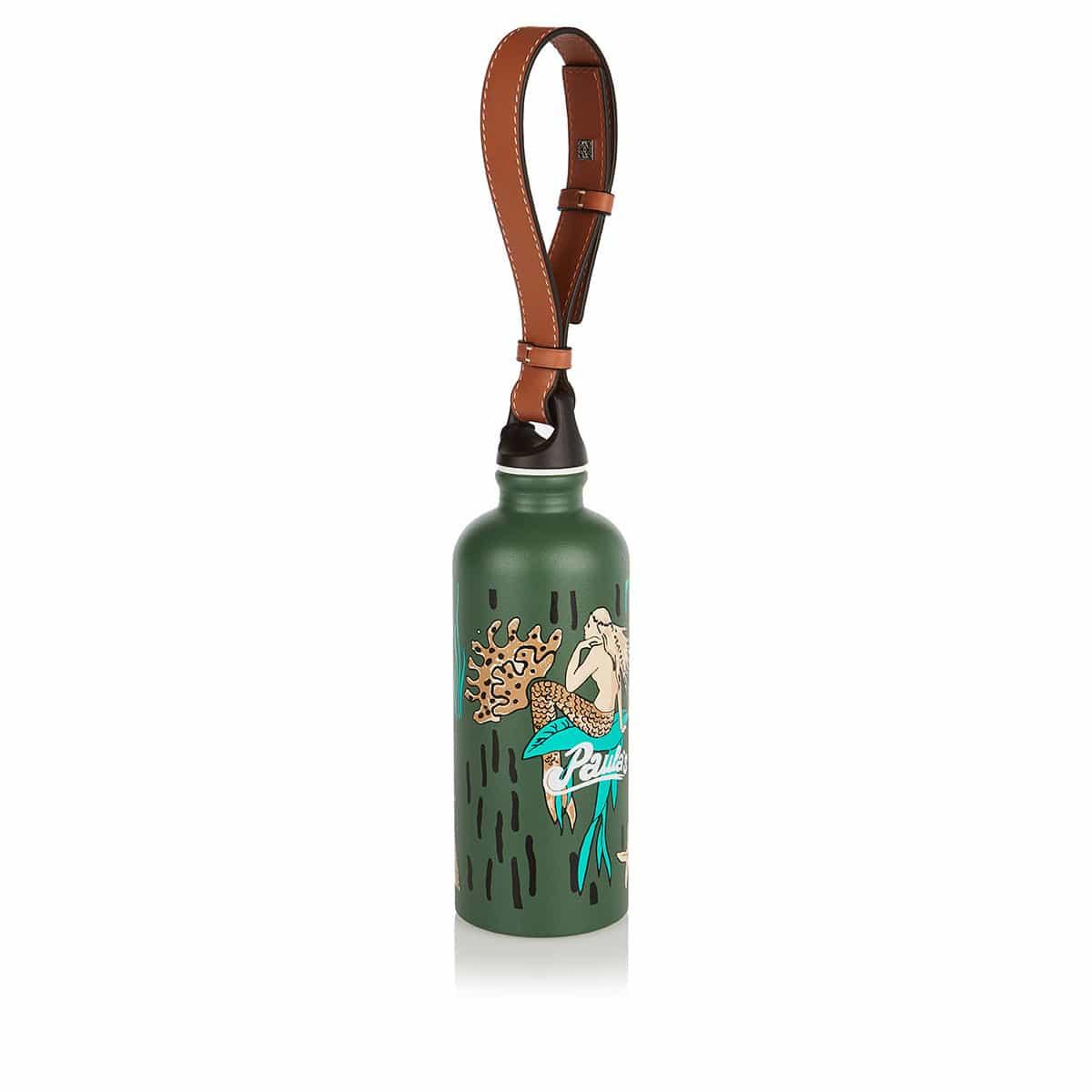 Mermaid logo water bottle