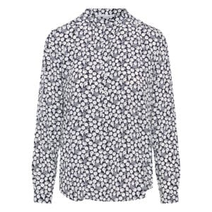 Eva printed silk shirt