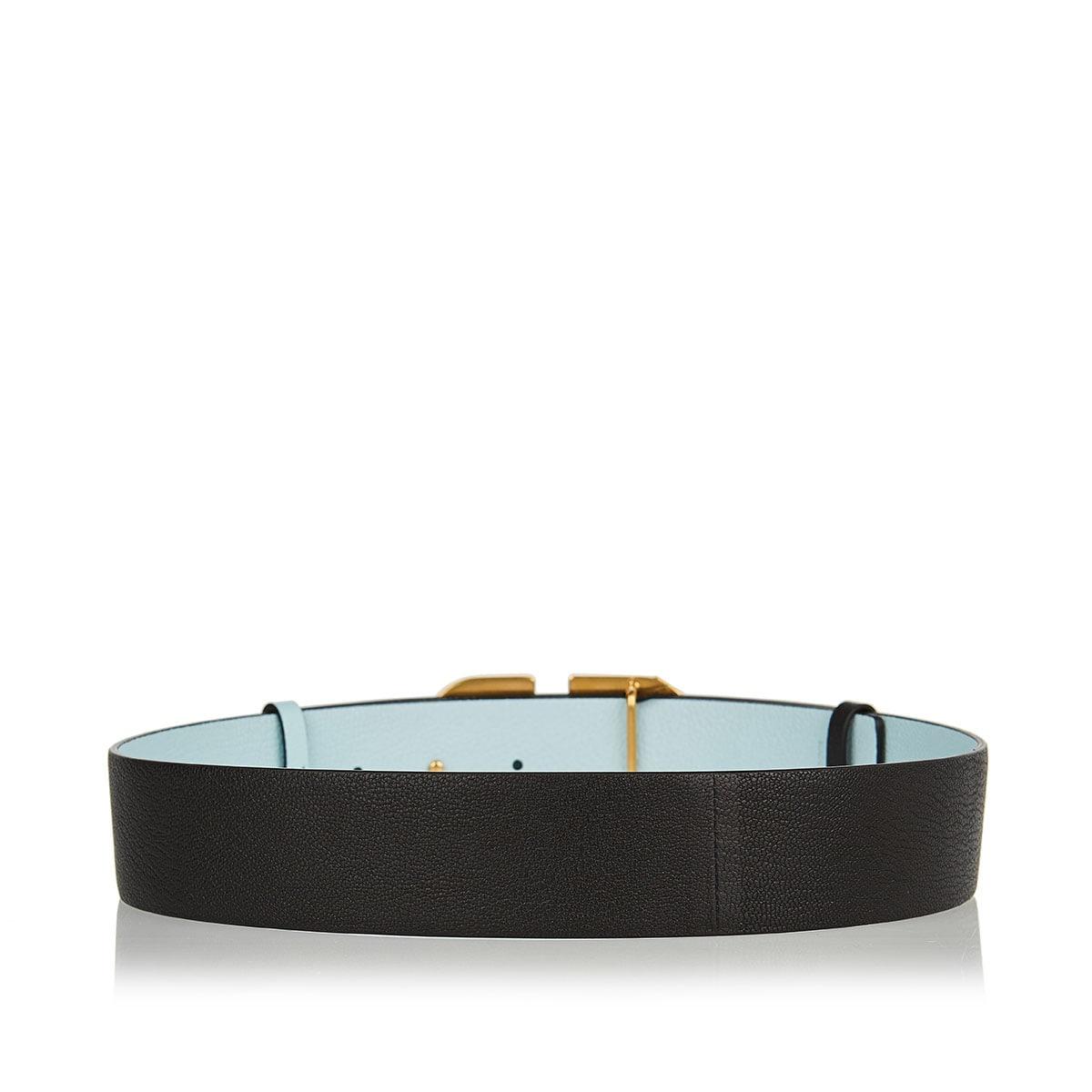 Reversible Vlogo belt
