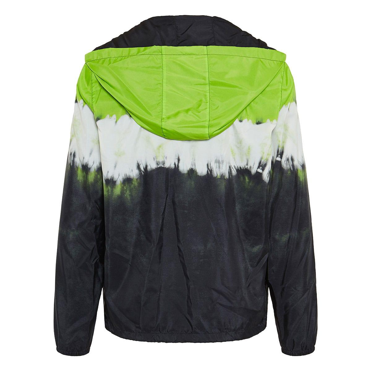 Tie-dye nylon jacket