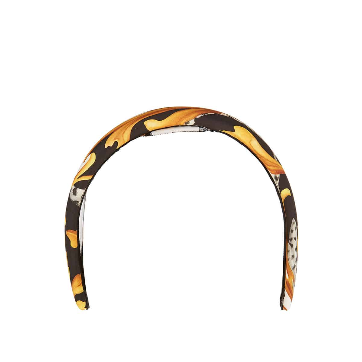 Broque print headband