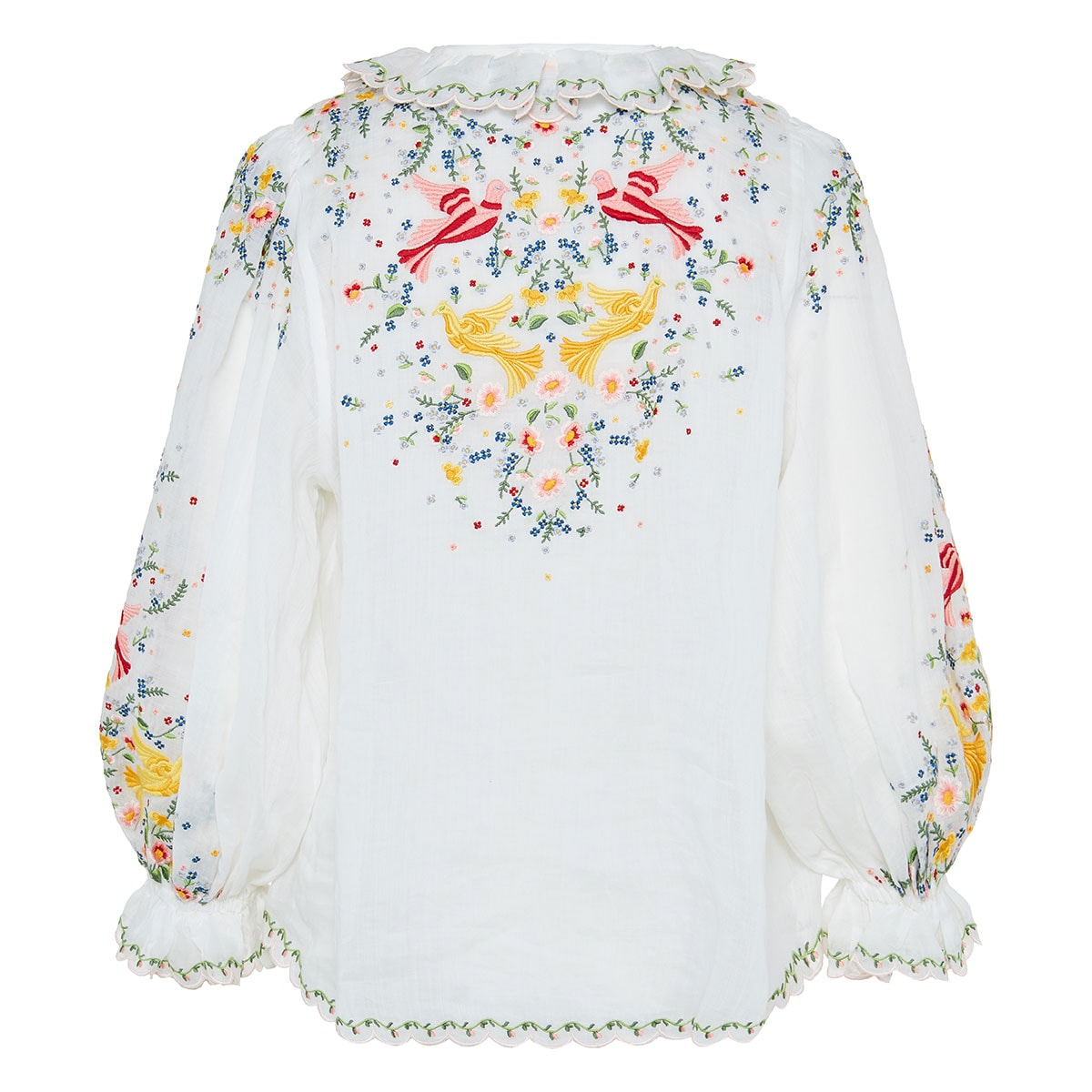 Carnaby embroidered blouse