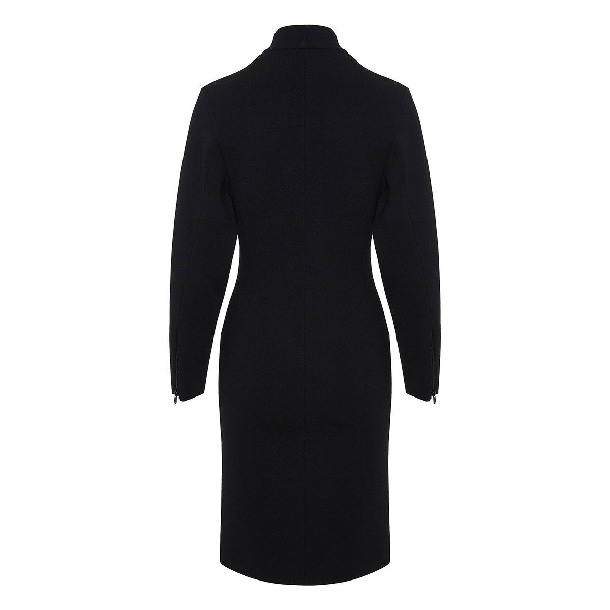 Wool zipper dress