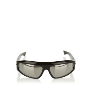 Wraparound mirrored sunglasses