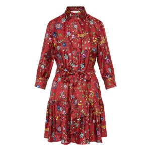 Bellini printed shirt dress