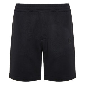 Skull patch track shorts