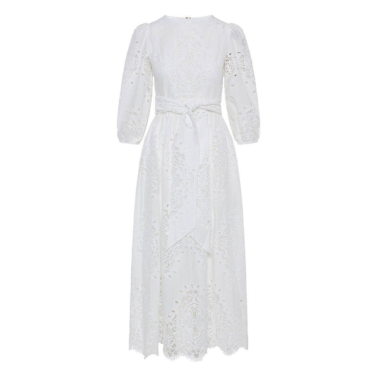 Constance lace midi dress