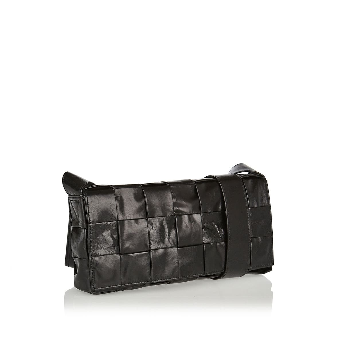 The Stretch Cassette leather bag