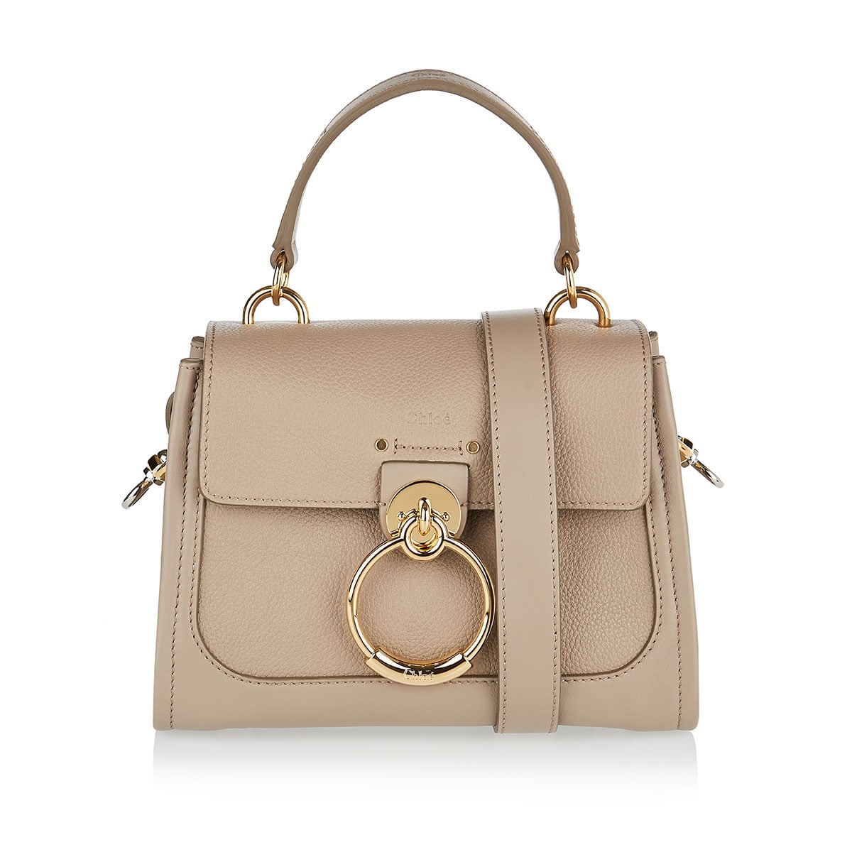 Mini Tess Day leather bag