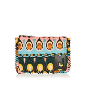 Deluxe printed nylon pouch