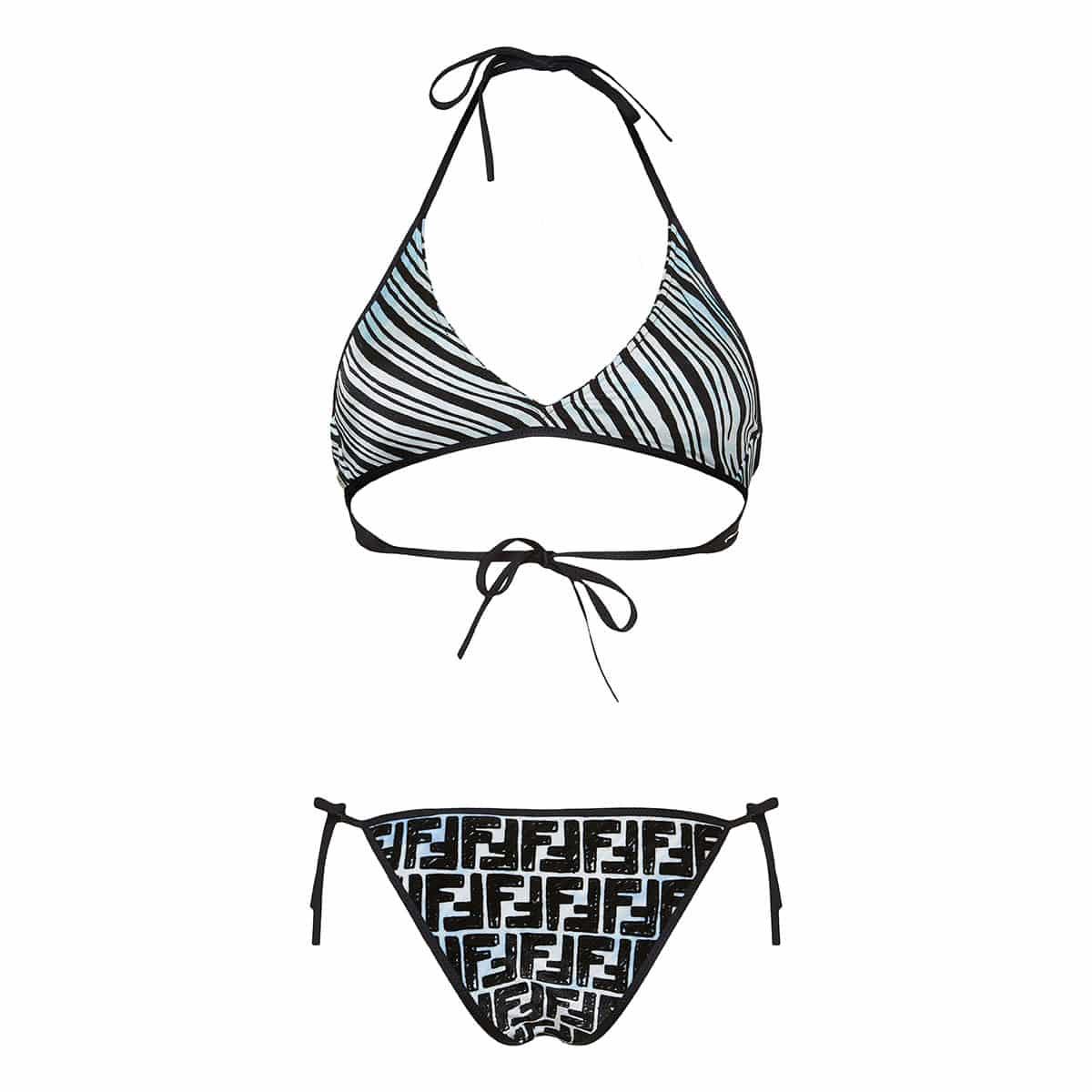 FF reversible chenille bikini