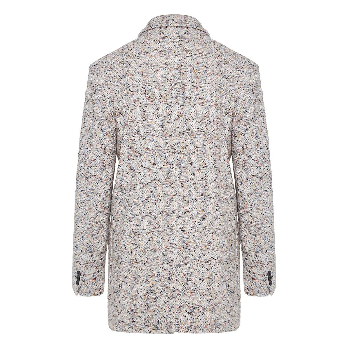 Kindan oversized tweed blazer