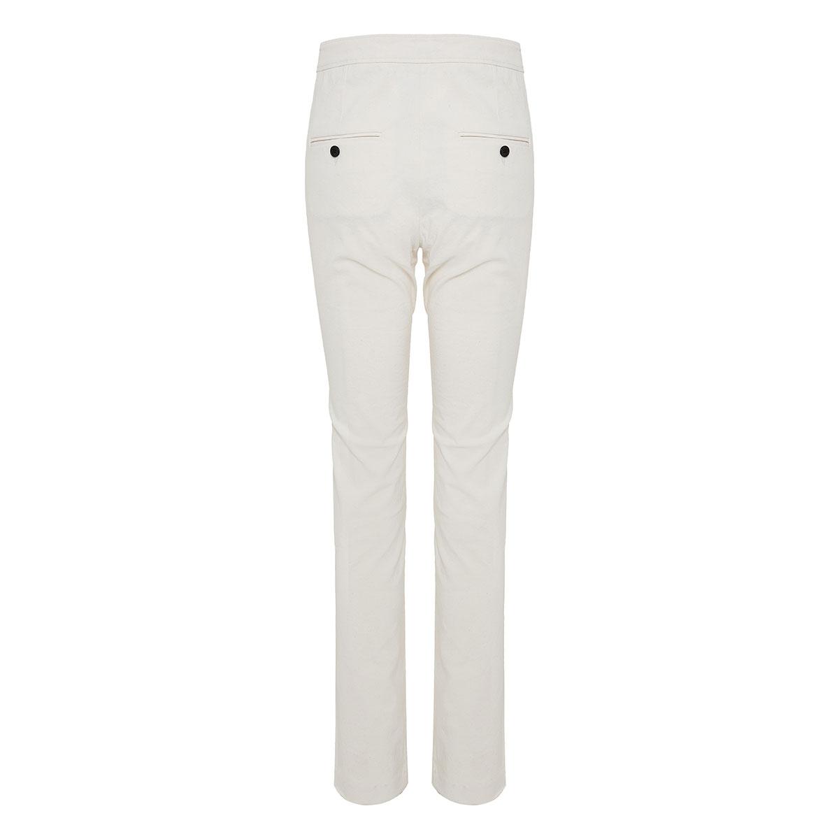 Waren slim-fit trousers