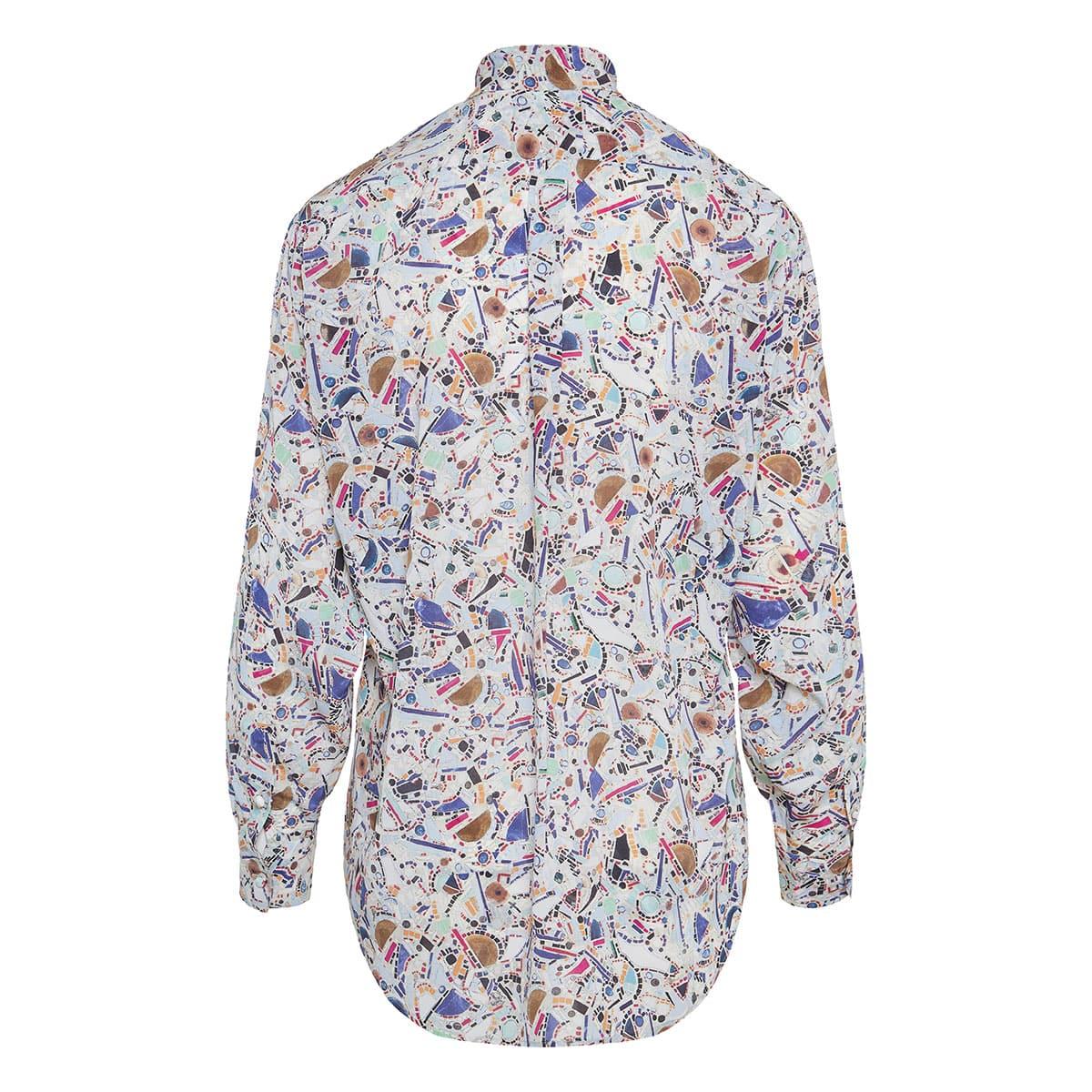Cade printed silk shirt