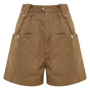 Palino high-waist wide-leg shorts