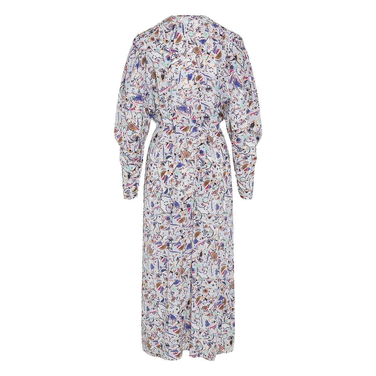 Blainea long printed dress