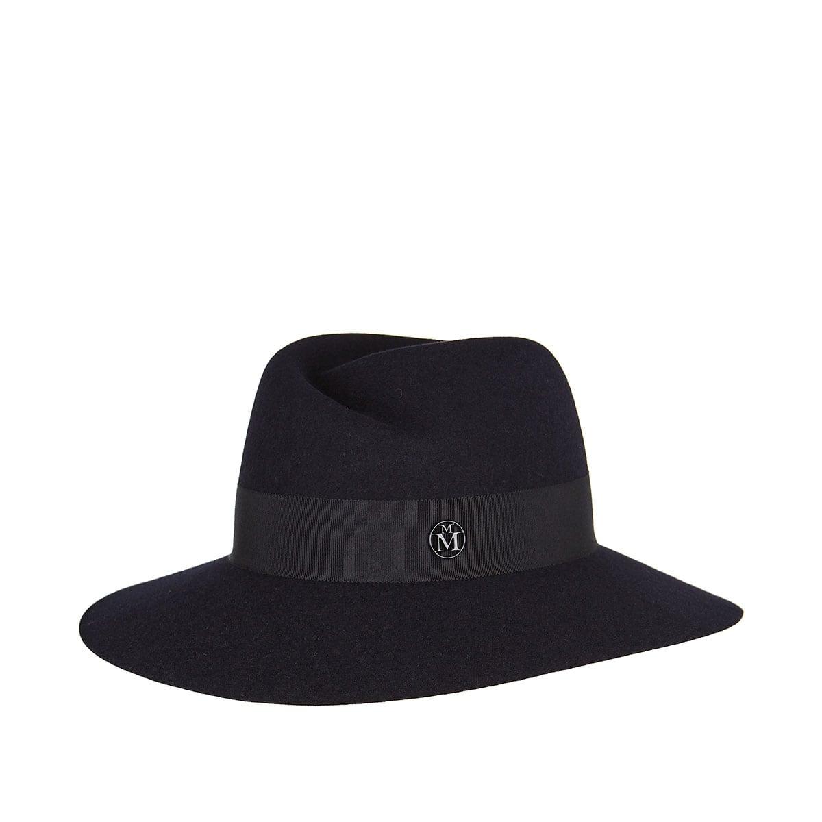 Virginie felt fedora hat