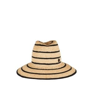Kate striped straw hat