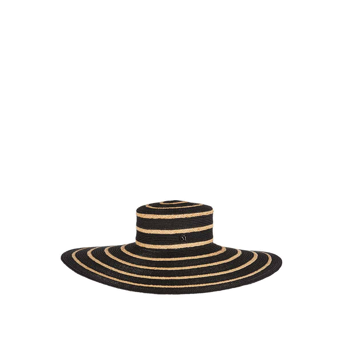 Ursula striped woven hat