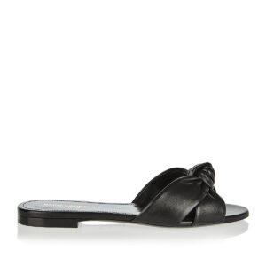Bianca knotted flat sandals
