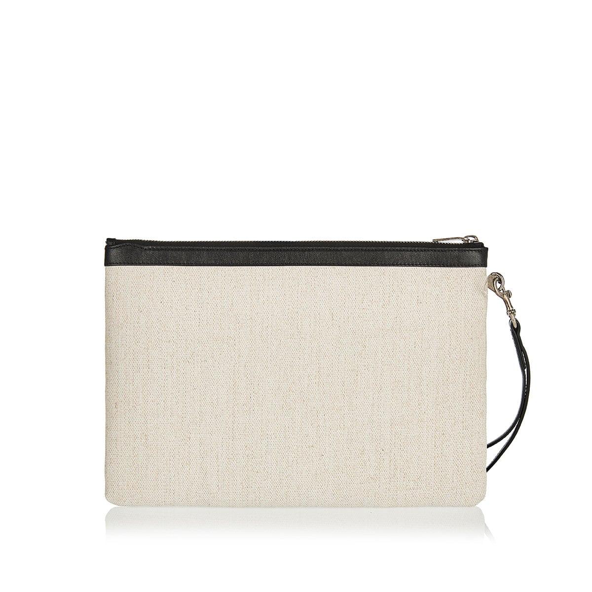 Rive Gauche linen pouch
