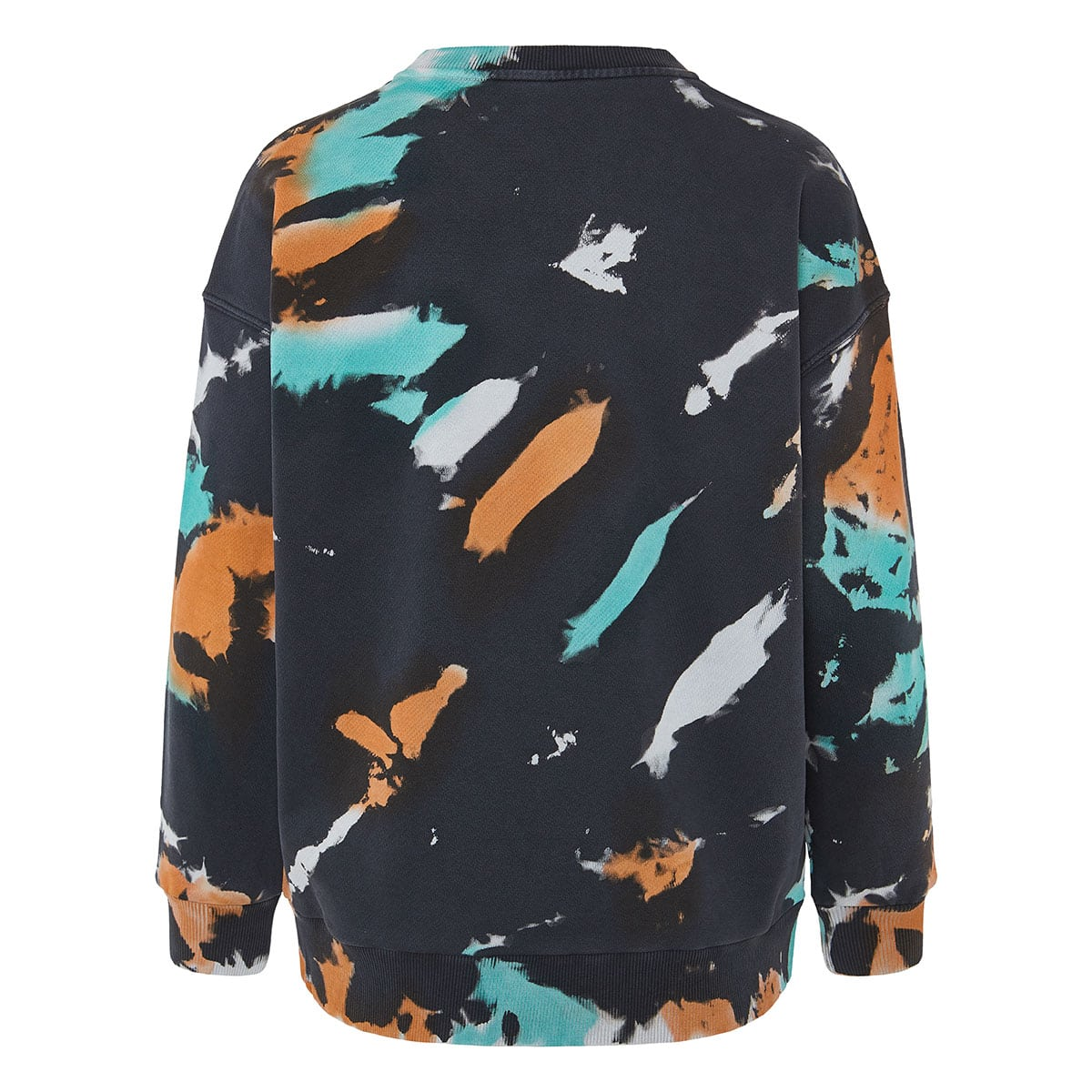 Tie-dye logo sweater