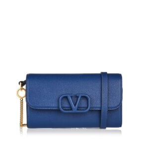 V-sling leather bag